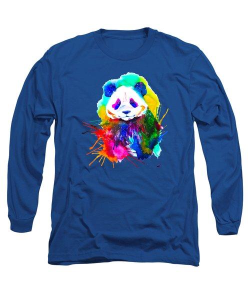 Panda Splash Long Sleeve T-Shirt