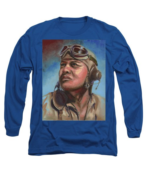 Pappy Boyington Long Sleeve T-Shirt