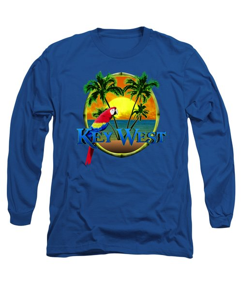 Parrot Of Key West Long Sleeve T-Shirt