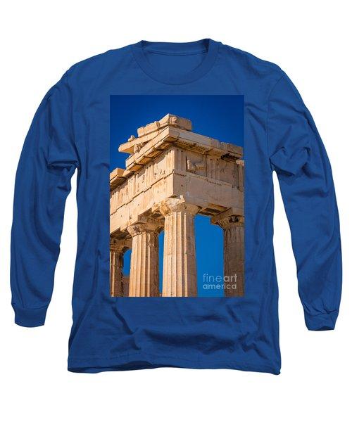 Parthenon Columns Long Sleeve T-Shirt