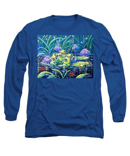 Party At The Pad Long Sleeve T-Shirt by Gail Butler