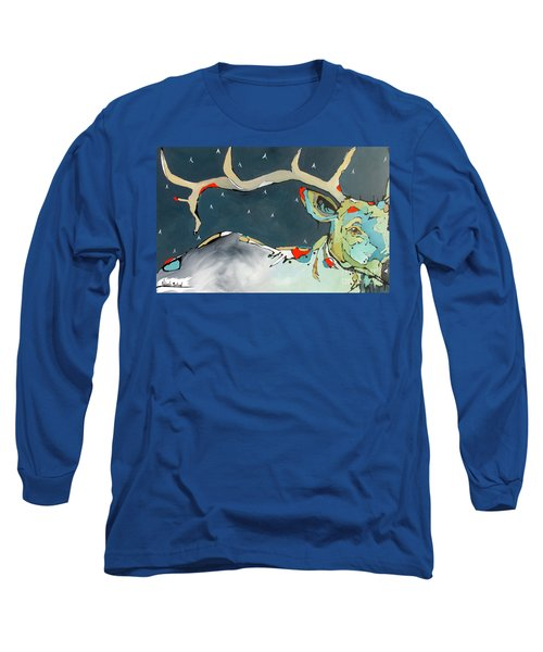 Passing In The Night Long Sleeve T-Shirt by Nicole Gaitan