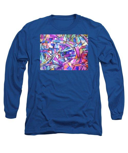 Pastel Kaleidoscope Long Sleeve T-Shirt