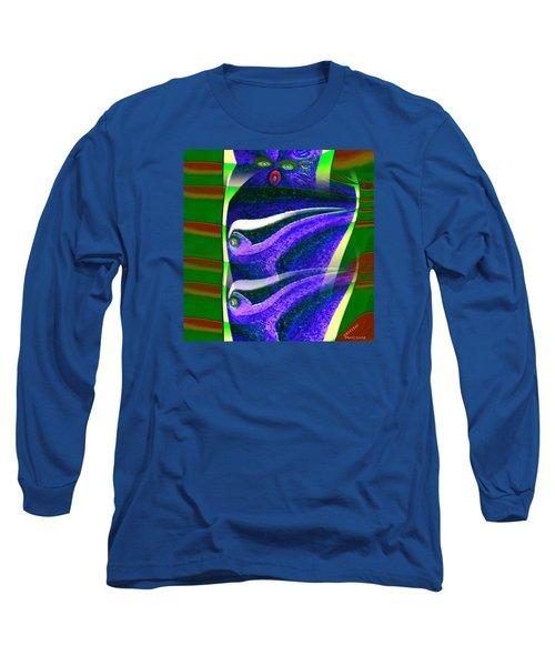 Pattern 308 _ Viewer Long Sleeve T-Shirt
