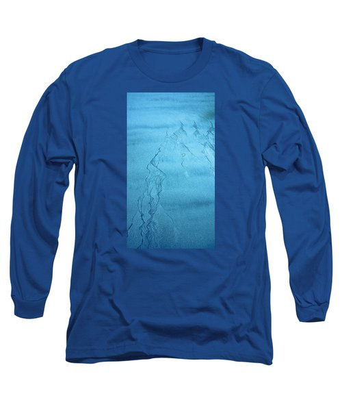 Patterns In The Sand Long Sleeve T-Shirt by Michele Cornelius