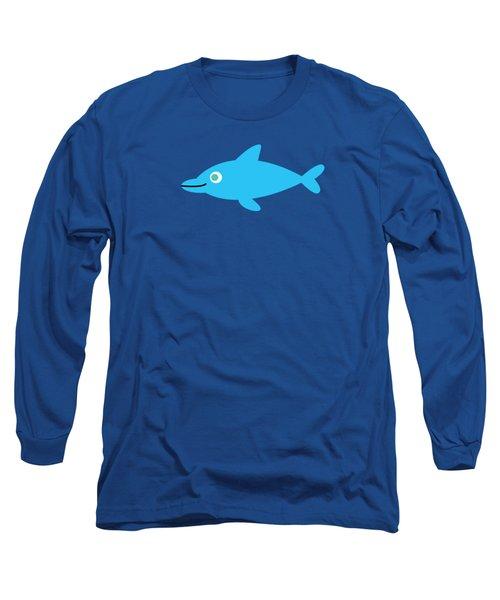 Pbs Kids Dolphin Long Sleeve T-Shirt