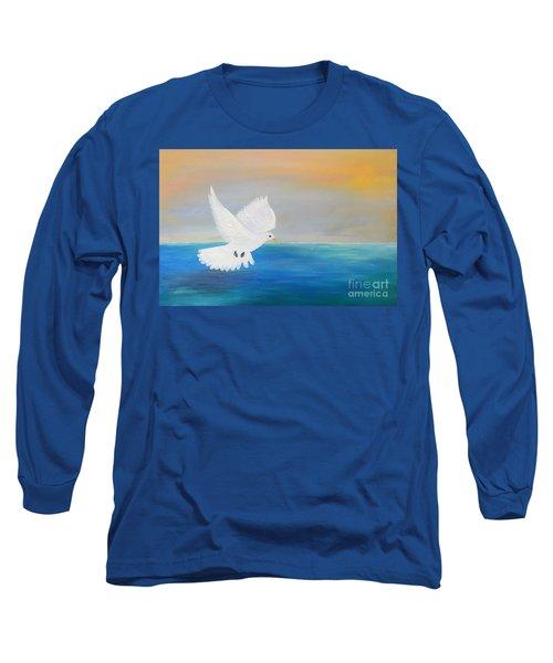 Peace Descending Long Sleeve T-Shirt