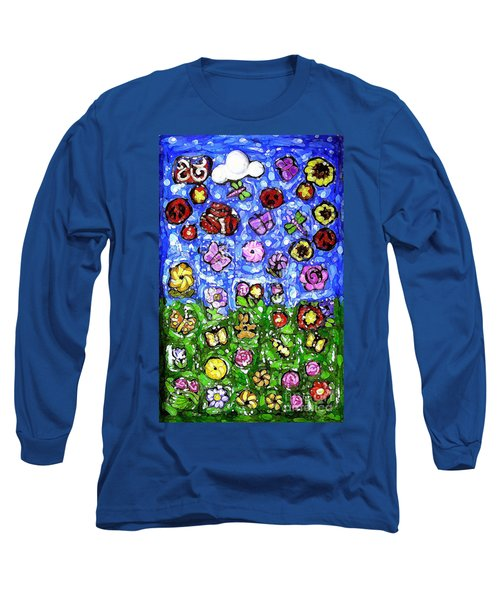 Peaceful Glowing Garden Long Sleeve T-Shirt