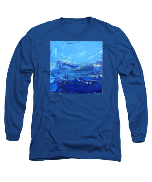 Peinture Abstraite Sans Titre 10 Long Sleeve T-Shirt