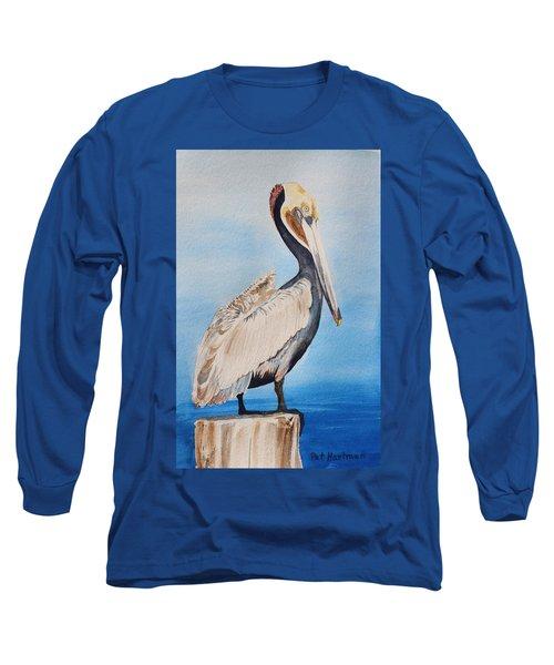 Pelican On Post Long Sleeve T-Shirt