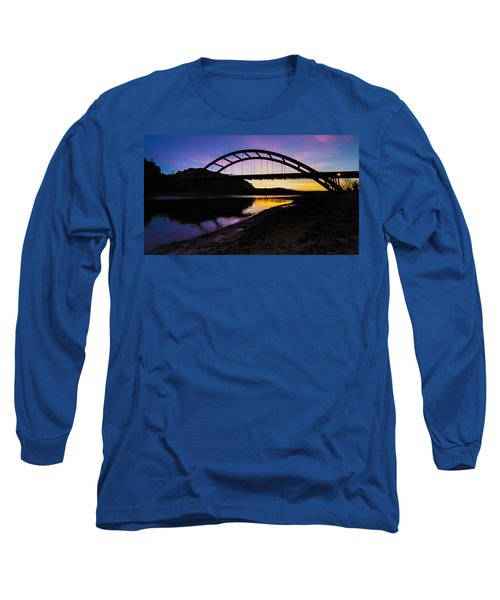 Pennybacker Bridge Long Sleeve T-Shirt