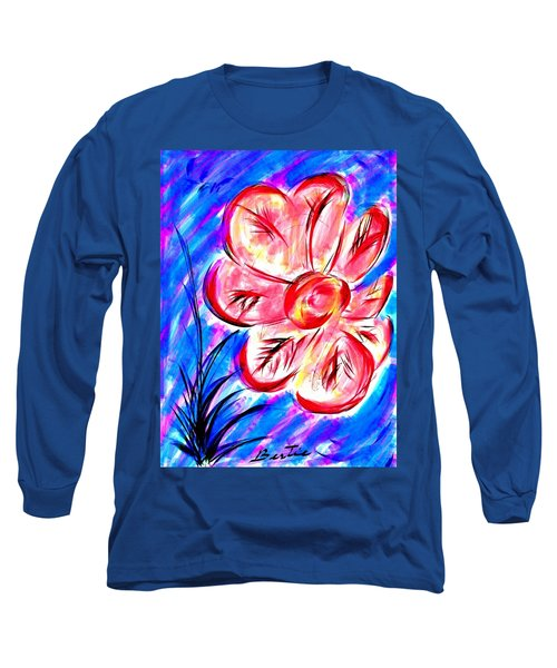 Peppermint Kiss Long Sleeve T-Shirt