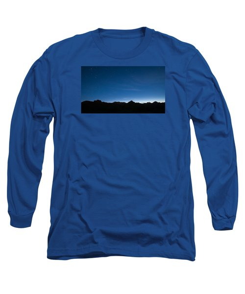 Long Sleeve T-Shirt featuring the photograph Peralta Trail At Sunrise by Monte Stevens