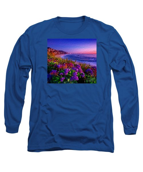 Perfect Sunset Long Sleeve T-Shirt by Anthony Fishburne