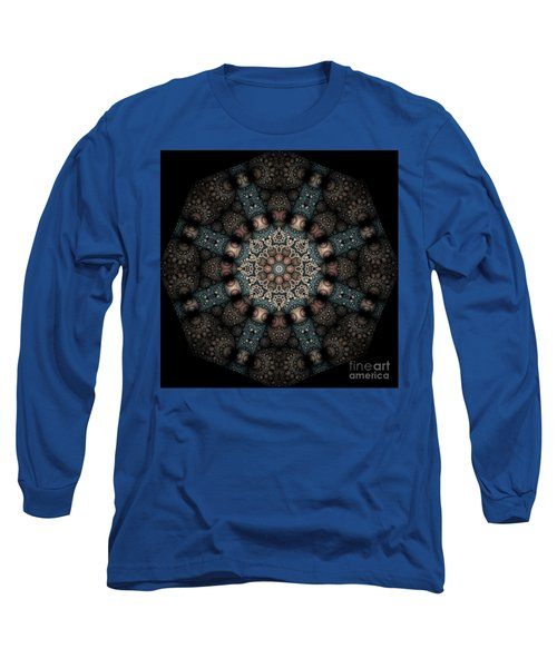 Long Sleeve T-Shirt featuring the digital art Persnickety Palpitations Of Magnificent Malformations by Rhonda Strickland