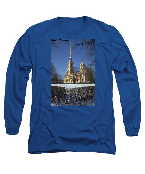 Peter And Paul Cathedral Long Sleeve T-Shirt by Travel Pics