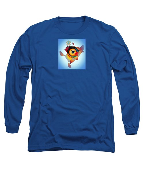 Petunia Parrot 2 Long Sleeve T-Shirt