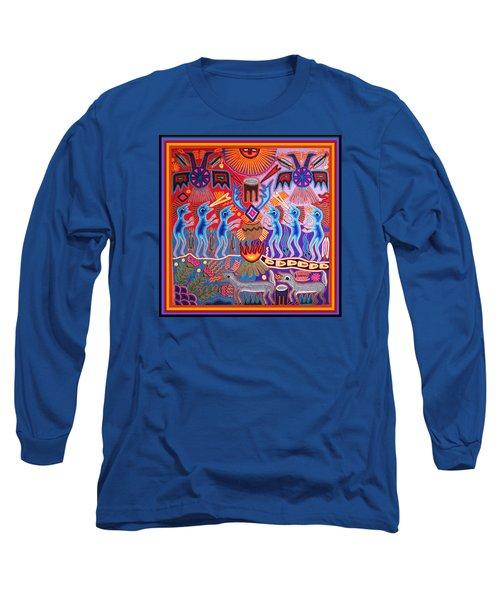 Peyote Shaman Hunting Ritual Long Sleeve T-Shirt