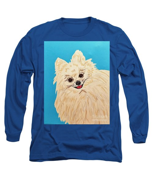 Phebe Date With Paint Nov 20th Long Sleeve T-Shirt