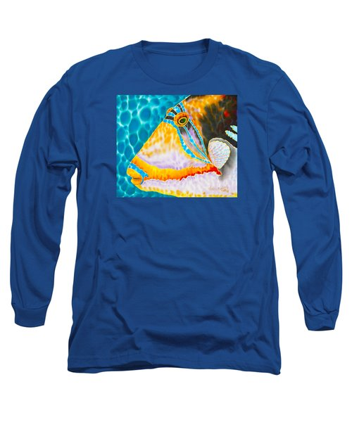 Picasso Trigger Face Long Sleeve T-Shirt