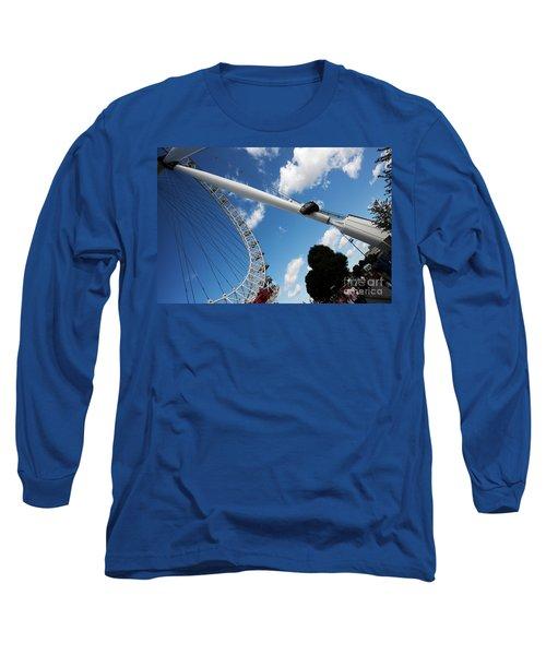 Pillar Of London S Ferris Wheel  Long Sleeve T-Shirt