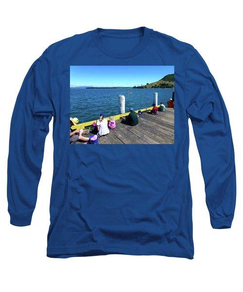 Pilot Bay 1 - Mount Maunganui Tauranga New Zealand Long Sleeve T-Shirt