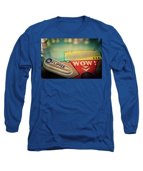 Pinball - Flipper Long Sleeve T-Shirt