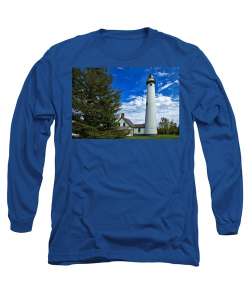 Pine At New Presque Isle Light Long Sleeve T-Shirt