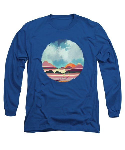 Pink Desert Glow Long Sleeve T-Shirt
