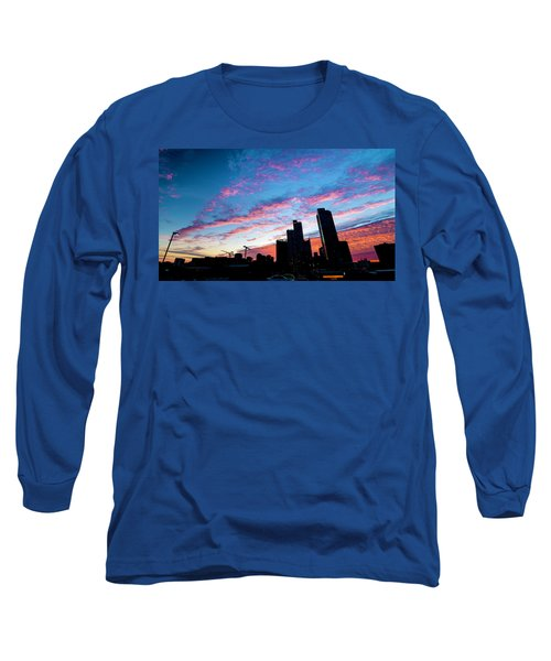 Pink Sunrise Long Sleeve T-Shirt