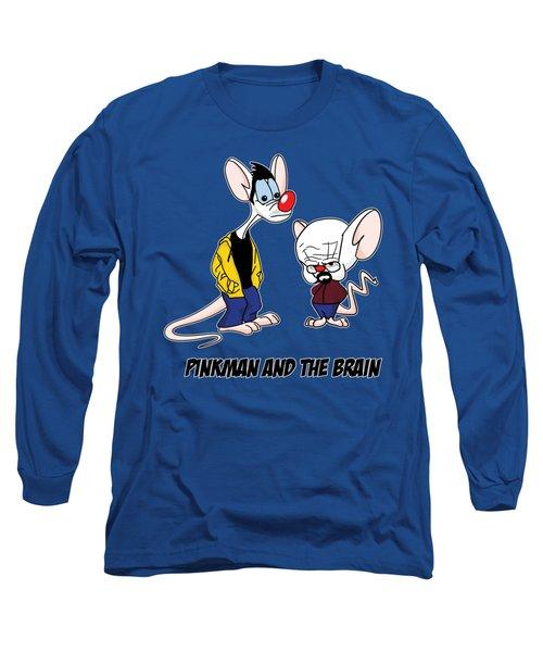 Pinkman And The Brain Breaking Bad Parody Pinky And The Brain Parody Breaking Bad Tv Show Long Sleeve T-Shirt