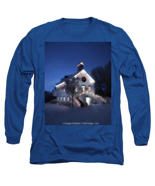 Pioneer Chapel At Christmas Long Sleeve T-Shirt