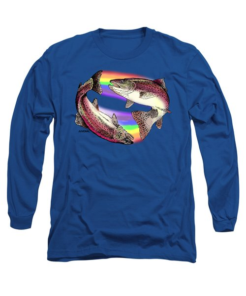 Pisces Artist Long Sleeve T-Shirt by Joseph Juvenal