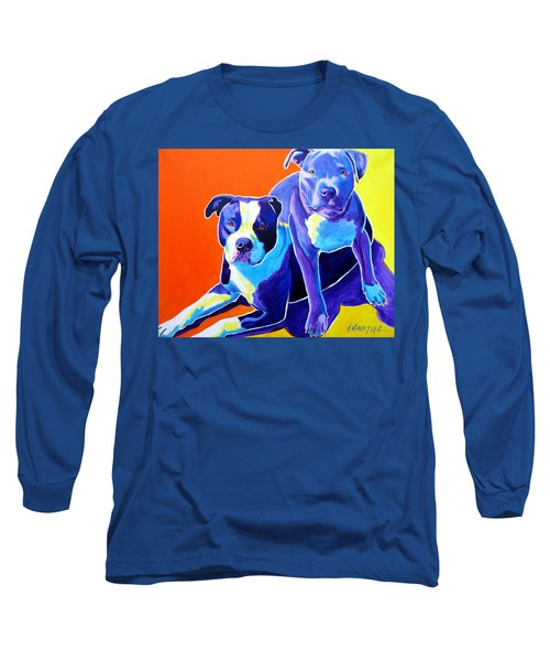 Pit Bulls - Diamond And Deisel Long Sleeve T-Shirt