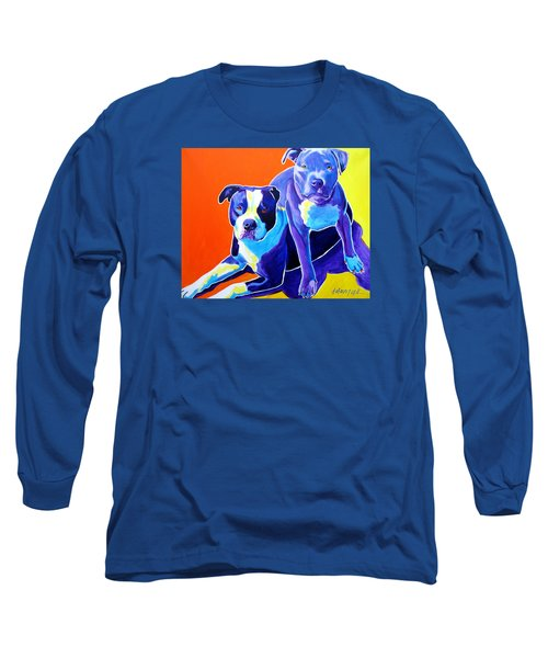 Pit Bulls - Diamond And Deisel Long Sleeve T-Shirt