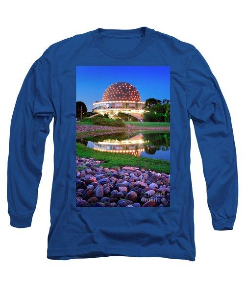 Long Sleeve T-Shirt featuring the photograph Planetario by Bernardo Galmarini