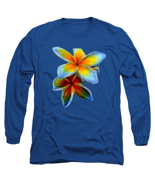 Plumerias Long Sleeve T-Shirt
