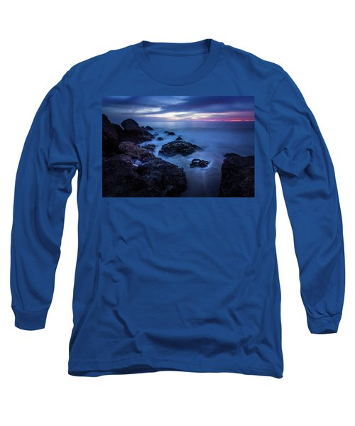 Point Dume Rock Formations Long Sleeve T-Shirt