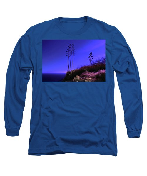 Long Sleeve T-Shirt featuring the photograph Point Fermin In Infrared by Randall Nyhof