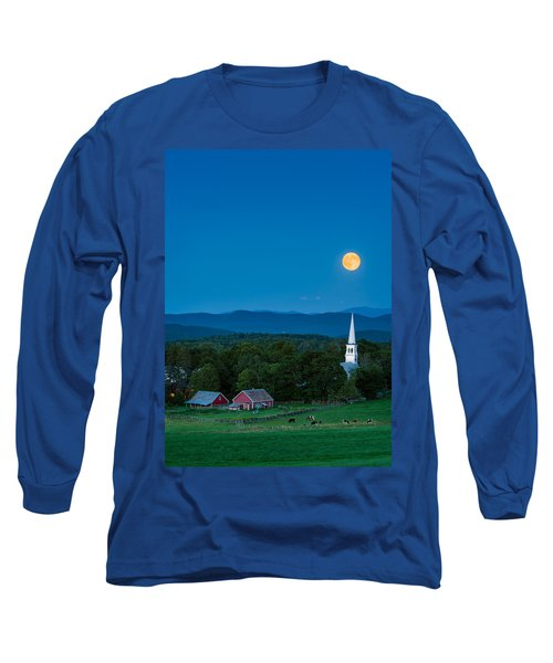 Pointing At The Moon Long Sleeve T-Shirt