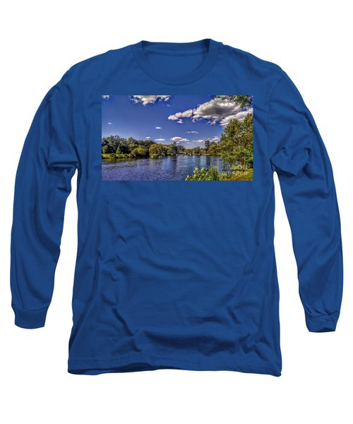 Pond At Verona Park Long Sleeve T-Shirt
