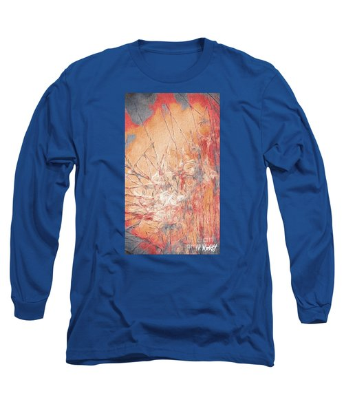 Pond In Fall Long Sleeve T-Shirt by William Wyckoff