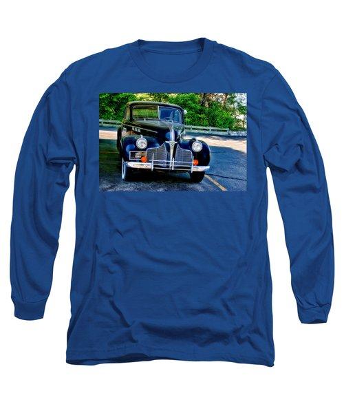 Long Sleeve T-Shirt featuring the photograph Pontiac 1940 by Joan Bertucci