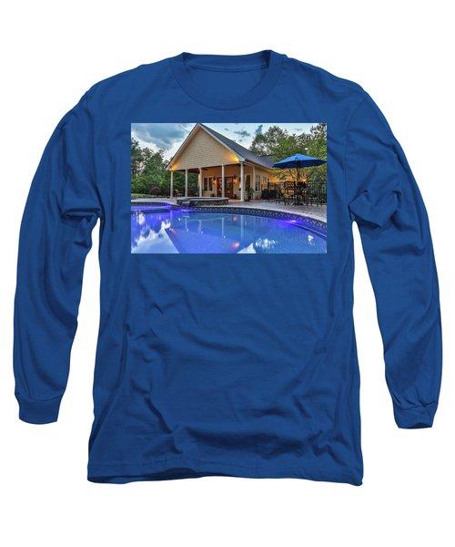 Pool House Long Sleeve T-Shirt