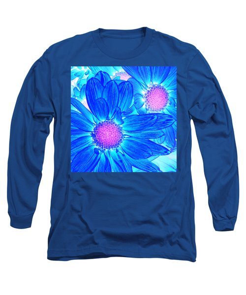 Pop Art Daisies 6 Long Sleeve T-Shirt