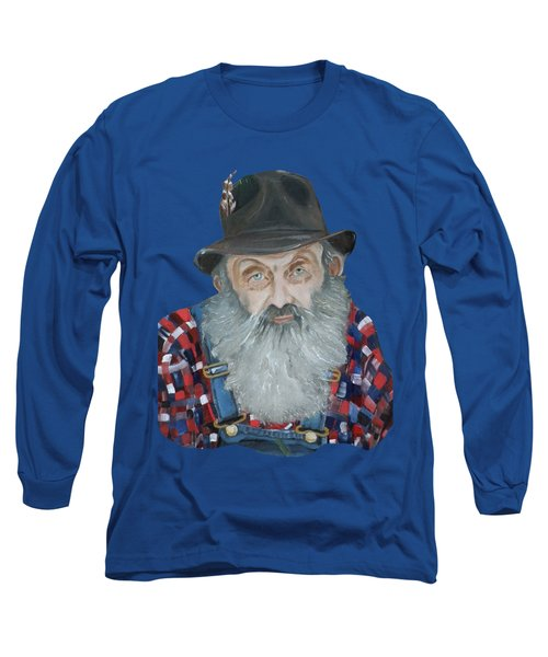 Popcorn Sutton Moonshiner Bust - T-shirt Transparent Long Sleeve T-Shirt
