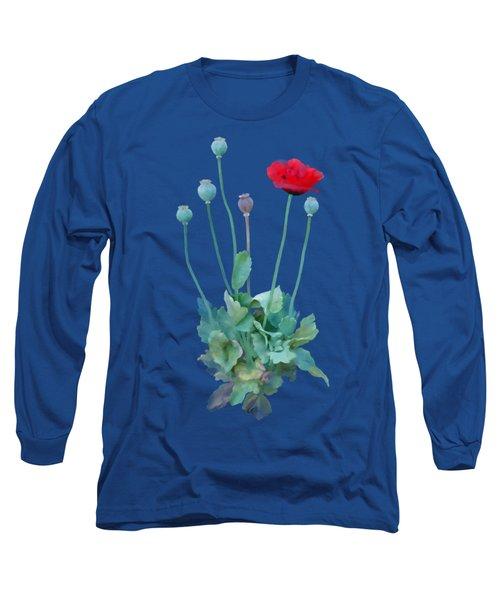 Poppy Long Sleeve T-Shirt