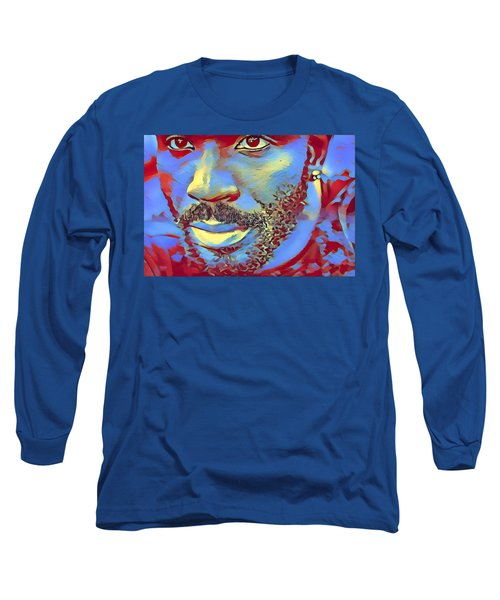 Portrait Of A Man Of Color Long Sleeve T-Shirt