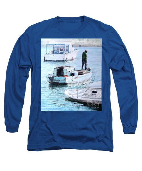 Potter's Cay Blues Long Sleeve T-Shirt