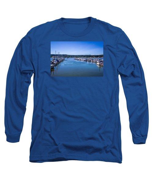 Poulsbo Marina Long Sleeve T-Shirt